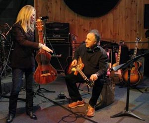Cindy Cashdollar and Arlen Roth